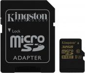 Фото Карта памяти Micro SDHC 32GB Class 10 Kingston SDCG/32GB + адаптер SD