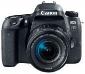 Зеркальная фотокамера Canon EOS 77D 24.2Mpix черный 1892C003