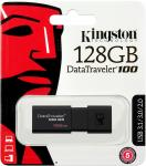 Фото Флешка USB 128Gb Kingston DataTraveler 100 G3 DT100G3/128GB черный
