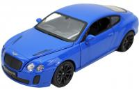 Фото Автомобиль Hoffmann Bentley Continental GT Supersport Coupe 1:24 синий
