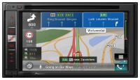 "Фото Автомагнитола Pioneer AVIC-F980BT 6.2"" 800х480 USB MP3 CD DVD FM RDS 2DIN 4x50Вт черный"