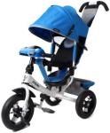 Велосипед Moby Kids Comfort Air Car 2 300/250 мм синий