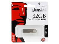 Внешний накопитель 32GB USB Drive <USB 2.0> Kingston DTSE9 (DTSE9H/32GB)