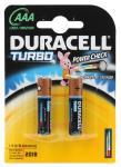 Батарейки Duracell Turbo Max LR03-2BL AAA 2 шт