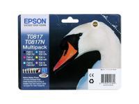 Картридж Epson Original T11174A10 (T0817) комплект для T50/T59/R270/R390/RX590 (6 цветов)