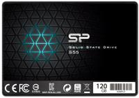 "Фото Твердотельный накопитель SSD 2.5"" 120 Gb Silicon Power S55 Read 550Mb/s Write 530Mb/s SATA III SP120GBSS3S55S25"