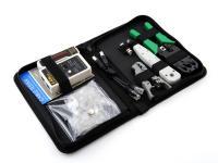 Набор инструментов 5bites TK031 клещи LY-T2007C универсальные LY-T2021 Krone нож LY-501B тестер кабеля LY-CT007 коннекторы RJ11x20шт+RJ45x20шт