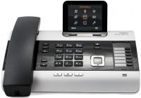 Фото Телефон IP Siemens GIGASET DX800A VoIP ISDN 2xLAN Bluetooth all-in-one темно-серый