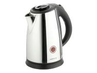 Чайник Polaris PWK 1765CAR 2200Вт 1.7л металл черный/серебристый