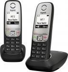Р/Телефон Dect Gigaset A415 DUO черный 2 трубки