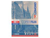 Пленка для черно-белых копиров Lomond А4 100мик 50шт 210х297 прозрачная 0701415