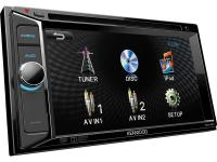 "Фото Автомагнитола Kenwood DDX-155 6.2"" 800х480 USB MP3 CD DVD FM 2DIN 4x40Вт пульт ДУ черный"