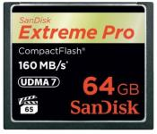 Карта памяти Compact Flash Card 64Gb Sandisk SDCFXPS-064G-X46