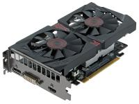 Видеокарта 2048Mb ASUS GeForce GTX750 Ti STRIX OC с CUDA PCI-E GDDR5 DVI HDMI DP Retail STRIX-GTX750TI-OC-2GD5