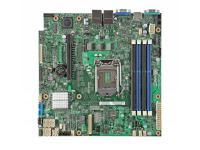 Мат. плата для ПК INTEL DBS1200V3RPM Socket 1150 C226 4xDDR3 1xPCI-E 8x 6xSATAIII mATX Retail