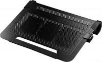 "Подставка для ноутбука до 19"" Cooler Master NotePal U3 Plus R9-NBC-U3PK-GP пластик/алюминий/резина 1800об/мин 23db черный"