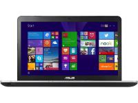 "Ноутбук ASUS N751Jk 17.3"" 1600x900 Intel Core i5-4200H 1Tb 8Gb nVidia GeForce GTX 850M 4096 Мб черный Windows 8 [90NB06K2-M01040]"