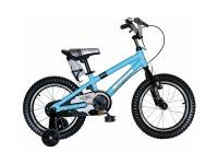 "Фото Велосипед Royal baby Freestyle Alloy 14"" синий RB14B-7"