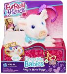 Мягкая игрушка Hasbro Модные зверята: Свинка от 4 лет 3 предмета А6175