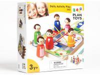 Настольная игра развивающая Plan Toys Режим дня 5163