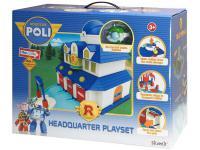 Игровой набор Silverlit Poli Штаб-квартира с фигуркой Хэли от 3 лет 83156