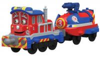 Игровой набор Chuggington Die-Cast, Паровозик Калли с прицепом 54126