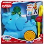 Каталка на палочке Playskool Слоник голубой от 1 года пластик A2877