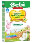 Каша Bebi Premium гречневая с яблоком с 4 мес. 200 гр. б/мол.
