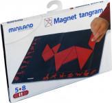 Магнитная мозаика Miniland Танграм