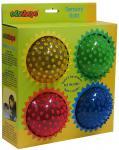 Набор Edushape массажных мячей 4 шт. 13 см 705174