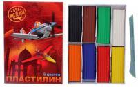 Пластилин Disney Самолеты 2014 8 цветов 23012