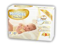 Подгузники Huggies Elite Soft 2 (4-7 кг) 27 шт