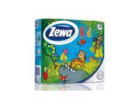Бумага туалетная Zewa Kids не содержит спирта 4 шт
