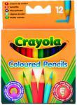 Цветные карандаши Crayola Короткие, 12 шт. 4112
