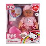 Пупс Карапуз Hello Kitty (4 функции) 30 см.