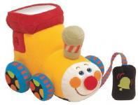 Интерактивная игрушка Ks Kids Паровозик Чух-чух от 6 месяцев жёлтый КА663