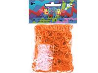Резинки для плетения Rainbow Loom Оранжевый неон 20570 от 6 лет 600 шт
