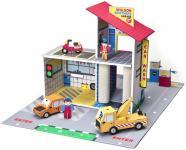 Игровой набор Krooom Детский гараж Уилсон Бразерс разноцветный 43 см К-303