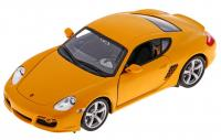 Автомобиль Welly Porsche Cayman S 1:24 желтый