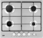 Варочная панель газовая Beko HIMG 64233 SX серебристый