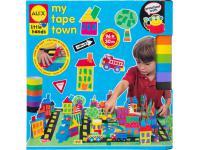 Набор для творчества Alex Город из цветной клейкой ленты от 3 лет