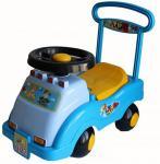 Каталка-машинка Совтехстром Автомобиль №2 голубой от 1 года пластик У439