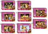 Пазл Step Puzzle Маша и Медведь 120 элементов 75112