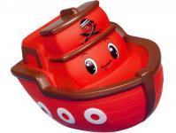 Резиновая игрушка для ванны Simba Лодочка 49622 красная