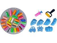Тесто для лепки: 28 цветов, 785г, формочки, инструменты Color Puppy 63783