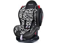 Автокресло Welldon New Smart Sport Side Armor & Cuddle Me (zebra)