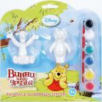 Набор для росписи фигурок Играем вместе Multiart Disney Винни Пух и Тигра от 3 лет BWC 1111В