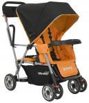 Прогулочная коляска для погодков Joovy Caboose Ultralight (оранжевый)