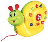 Интерактивная игрушка Умка Улитка-каталка от 1 года разноцветный B204780-R