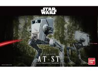 Шагоход Bandai AT-ST Star Wars сборная модель 1:48 серый 84613